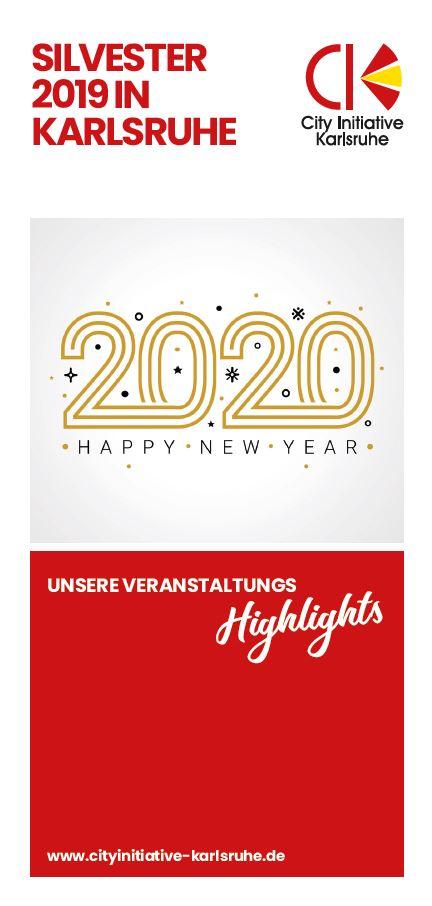 Silvester 2020 Karlsruhe
